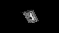 Esdec Module Clamp met vereffening zwart