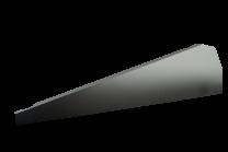 Esdec FlatFix Fusion Winddeflector Rechts Zwart