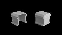 Esdec ClickFit EVO - Eindkap zonder eindklemsteun