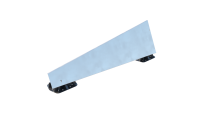 Esdec FlatFix Wave Wind Deflector Kit