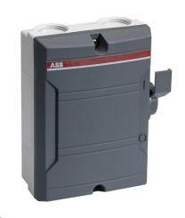 ABBAC (Werk)schakelaar 25A 4-polig IP65