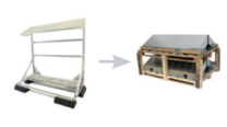 Conduct PVshelter Wall/Floor Inverted Frame NA