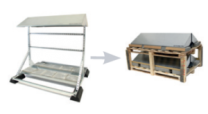 Conduct PVshelter Floor B2B Inverted Frame NA