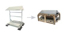 Conduct PVshelter SingleShelter B2B Inverted Frame NA