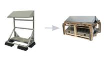 Conduct PVshelter SingleShelter Wall/Floor Inverted Frame NA