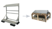 Conduct PVshelter High Energy Wall/Floor Inverted Frame NA