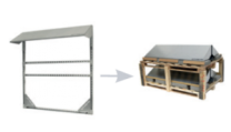 Conduct PVshelter High Energy Wall Inverted Frame NA